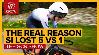 What's Si's Excuse? The Real Reason He Got Beaten By 5 Roadies | The GCN Show Ep. 429