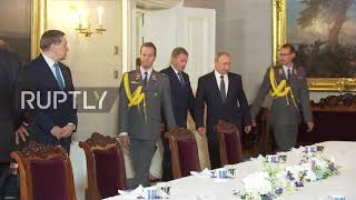 Finland: Putin and Niinisto hold talks following Trump summit