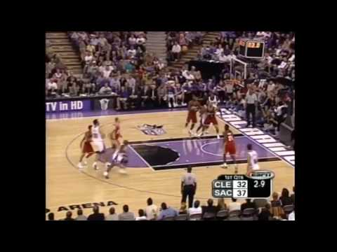 LeBron James   First NBA Game   Debut   Cavaliers vs Kings   October 29, 2003