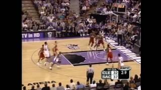 LeBron James   First NBA Game   Debut   Cavaliers vs Kings   October 29, 2003