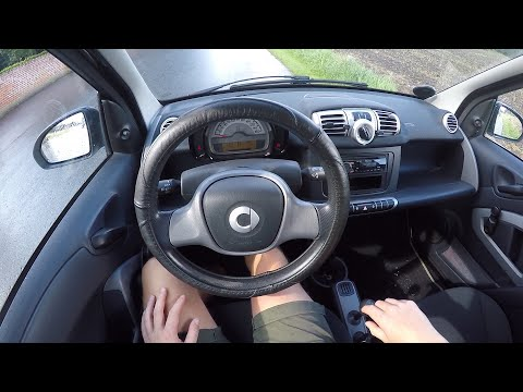 2011 Smart Fortwo Coupé 0.8 Liter Diesel   POV Driving   SMART Car For Citys   Wanna See Autos