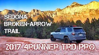 (Part18) 2017 4Runner TRD PRO Cement. Sedona BROKEN ARROW Off Road Trail.