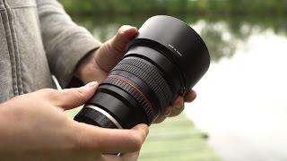 Объектив Samyang 85mm f/1.4 - куча видео-тестов в 4к