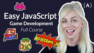 🎮 Easy JavaScript Game Development with Kaboom.js (Mario, Zelda, and Space Invaders) - Full Course