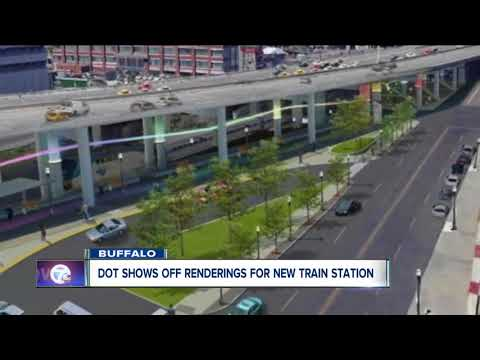 Renderings For New Buffalo Train Station
