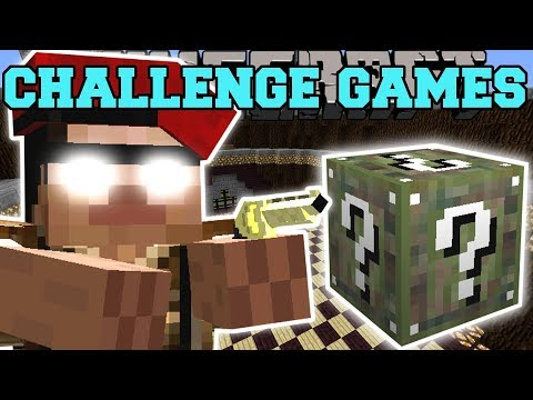 Minecraft: DICTATOR DAVE CHALLENGE GAMES - Lucky Block Mod - Modded Mini-Game