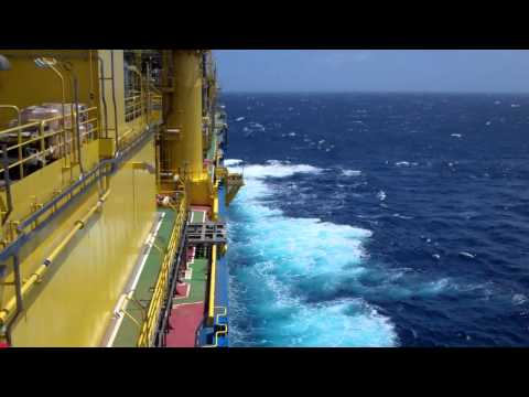 FPSO Aseng on the Indian Ocean
