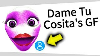 Dame tu cosita's girlfriend is a roblox hacker...