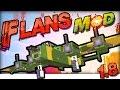 MINECRAFT MODS 1.8 : Flans FLUGZEUG Mod In-Game Review / Tutorial | German Deutsch |WW2 & MW Pack