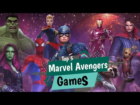 Top 5 Best Marvel Avengers Games For Every Marvel Fans || Android/IOS