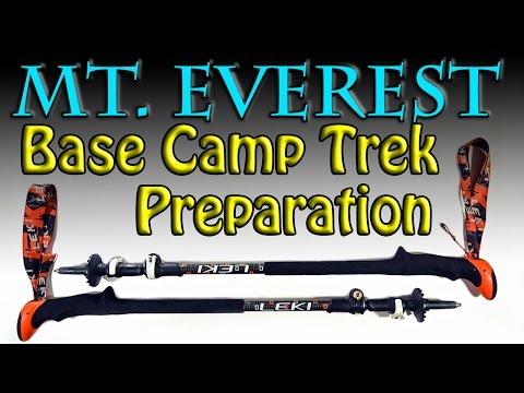 Preparation for my Everest Base Camp Trek 2015