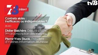7/8 Débat – Contrats aidés : Inefficaces ou indispensables ?