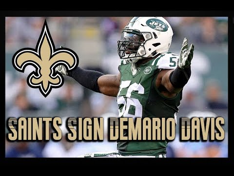 Saints Sign Former Jets LB Demario Davis | Contract/Film Analysis
