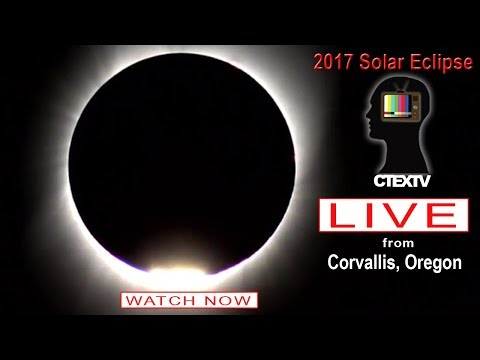 2017 Solar Eclipse Live From Corvallis, Oregon