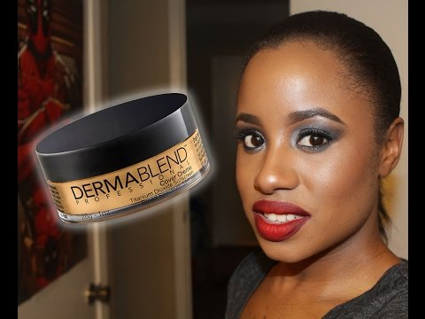 Dermablend Pro Cover Creme (cream) Foundation Review (3 colors, 12hr wear test, swatches)