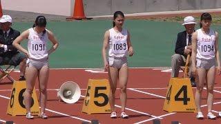20170430群馬県高校総体中北部地区予選女子100m7組 姫神ゆり 検索動画 6