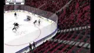 NHL 2002 PC - Gameplay footage