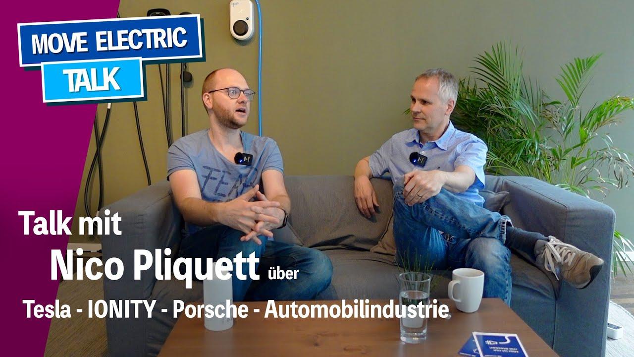 Talk mit Nico Pliquett über Tesla, VW, Porsche, Ionity - wo steht die Deutsche Autoindustrie?