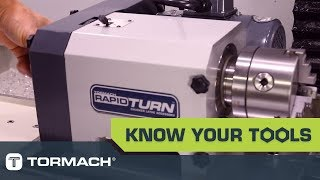 Tormach RapidTurn Speed Sensor Adjustment