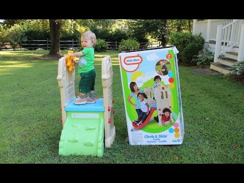 Little Tikes Climb and Slide Castle - Review (Climb N Slide Endless Adventures)