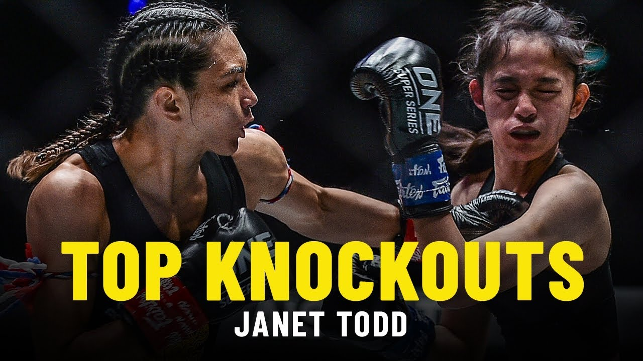 Janet Todd's Top Knockouts   ONE Full Fights