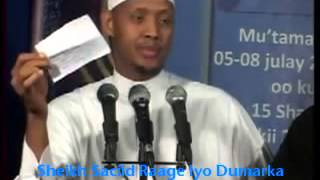 Sheikh Saciid Raage Iyo Dumarka Somalida- Guurka Ajaanibta