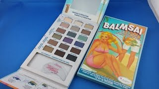 ✅ 6$ The Balm BALMSAI Unboxing from AliExpress.com haul euro app