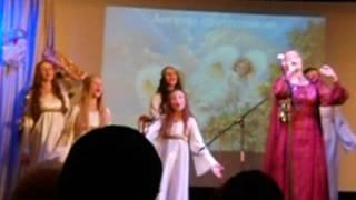 Смотреть видео Юлия Славянская - Рождество фрагмент  (Москва 05.01.17) онлайн