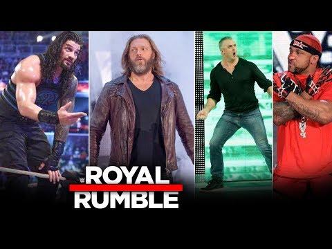 WWE Royal Rumble 26 January 2020 - Last-Minute Updates, 40 Man, Edge, MVP, Roman Reigns Highlights
