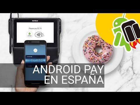 Android Pay ya se puede usar en España: bancos, tiendas...