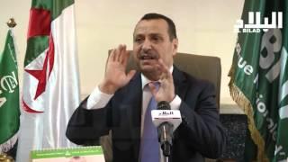 عاشور عبود / الرئيس المدير العام للبنك الوطني الجزائري  -el bilad tv -
