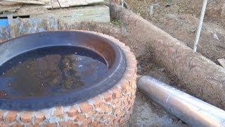 Строительство печи в баню с чаном чугунным. Рабочая часть бани в чане. Продажа чана чугунного. Печь.(, 2013-10-31T18:49:10.000Z)