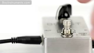 Booster Guitar Pedal By BOO INSTRUMENTS