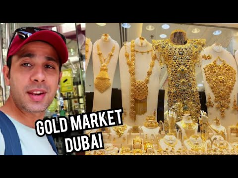 DUBAI Gold Souk | Gold & Spice Market | Travel Diary – Part 10