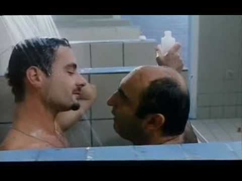 Gay shower and kiss  hot