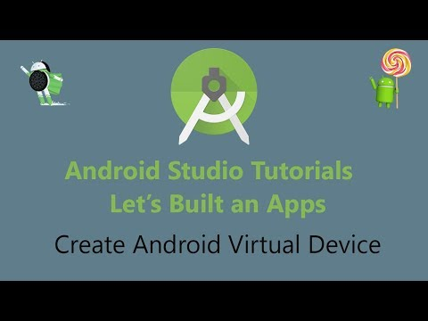 Create Android Virtual Device Emulator For Android Studio 2019