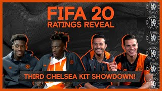 FIFA20 Ratings Reveal 🎮 Hudson-Odoi & Abraham v Pedro & Azpi!🔥 | Third Chelsea Kit Showdown