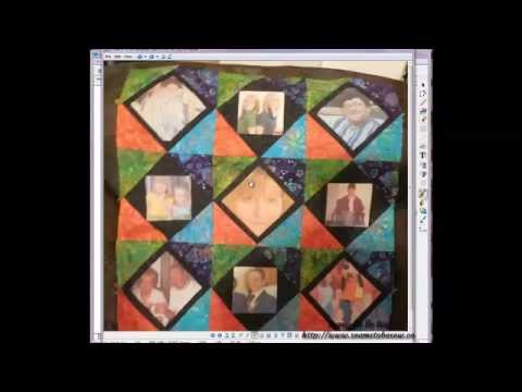 Adding Os To Fabrics To Add To Quilt Block Layout In Eq
