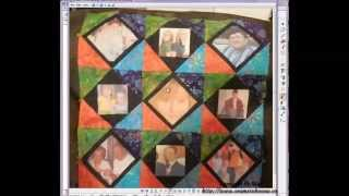 Adding Photos to Fabrics To Add to a Quilt Block & Layout In EQ