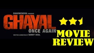Ghayal Once Again : Movie Review | Sunny Deol