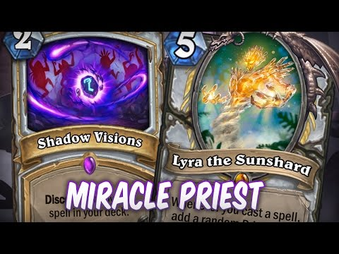 Le miracle priest - un deck value qui peut OTK !