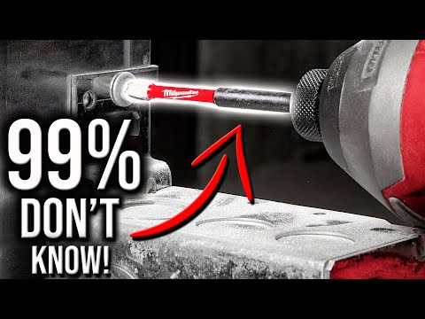 99% OF PEOPLE DON'T KNOW ABOUT THESE NEW MILWAUKEE TOOLS DRILL & DRIVER BITS!