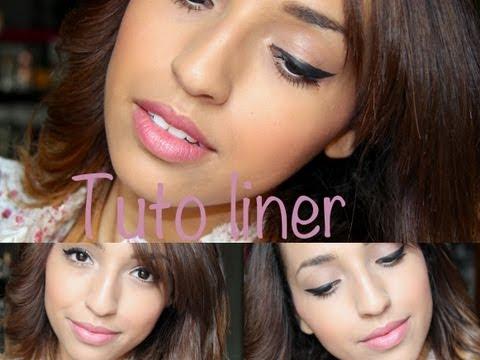 Appliquer son eye-liner et le mettre en valeur / Make up inside !