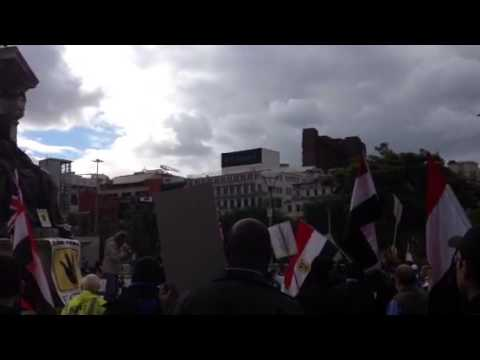 British Journalist condemning Egypt's military coup