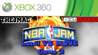 Xbox 360 - NBA JAM - Local Multiplayer in the House 2 !