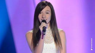 Kayla Jo Sings Beneath Your Beautiful | The Voice Kids Australia 2014
