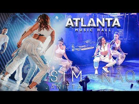 Anitta quebra tudo com SIM OU NÃO ao vivo no Atlanta  Hall em Goiânia 09122018