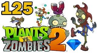 ч.125 Plants vs. Zombies 2 - Dark Ages - Day 12
