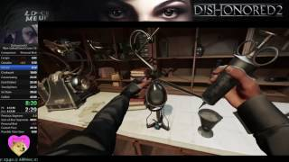 Dishonored 2 Speedrun - Non-Lethal/Ghost Corvo 40:59 PB/WR