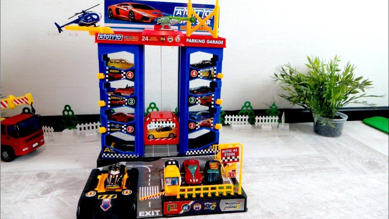 Toy Garages For Boys : Toy car parking garage cars toys for boys park